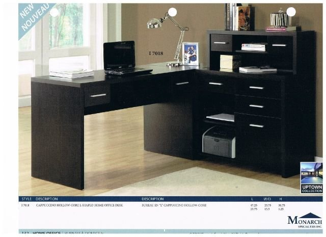 meuble d 39 ordinateur i 7018 monarch meuble d 39 ordinateur. Black Bedroom Furniture Sets. Home Design Ideas